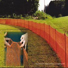 Plastic Safety Fence / Warning Wire Mesh