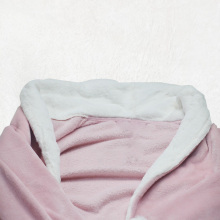 Pijama largo rosa y rojo