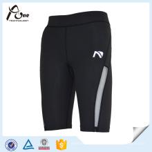 Short-Drying Design personalizado Men`s Compression Wear Calções de fitness