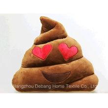 2015 Großhandels meistverkauftes neues Produkt Nettes Poo Plüsch Emoji Kissen