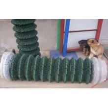 Загородка звена цепи PVC