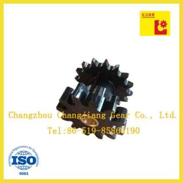 Standard Stock Sprocket and Spur Gear with Copper Brush