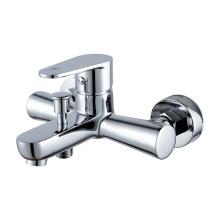 35mm Cartridge Chrome Plating Bath Faucet Bathroom Taps, China Faucet Supplier Bath Shower Mixer Faucet