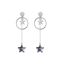 97416 xuping fashion elegant crystals from Swarovski, exquisite ladies drop earrings