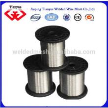 316L de alambre de acero inoxidable brillante suave