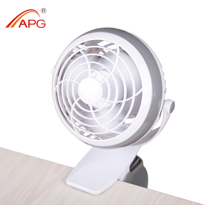 4 Inch USB Battery clip fan battery dual-purpose clip fan