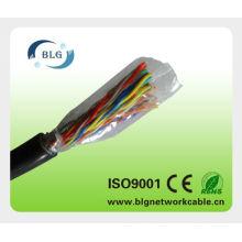 Cable telefónico y cables telefónicos con aislamiento PE