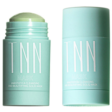 Hot Sale Green Tea Natural Clay Mask Deep Moisturizing Mud Stick for Skin Facial Care