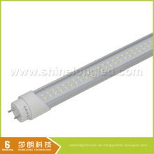 PC Abdeckung + Aluminiumgehäuse LED T8 Rohr 18W LED-Licht 1200mm VDE aufgeführt
