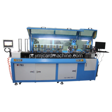 Full Auto Seven Stations Sim Card Punching Equipment