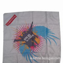 Scarf, Made of Polyester Satin Fabric, with Square Shape and Fashion Printing