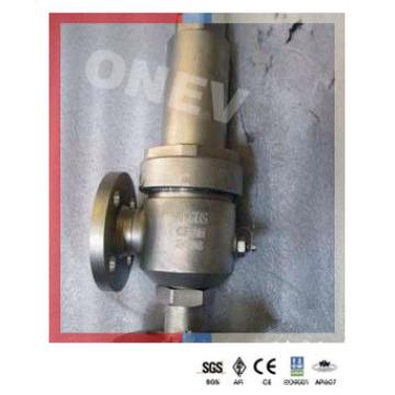 CF8m / CF8 Válvula de segurança com flange de aço inoxidável para água
