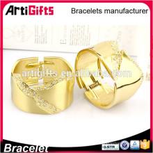 2016 золотые браслеты самые последние конструкции мода ювелирных браслеты