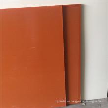 Hoja laminada de baquelita naranja roja o negra