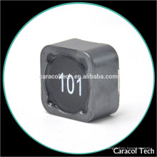 0885-100M smd shield inductor 100uh 3A con diferentes tipos de inductores