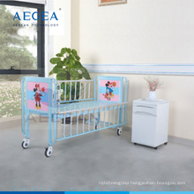 AG-CB003 medical equipment children steel cheap baby cots