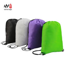 Promotional wholesale cheap reusable big non woven drawstring bag