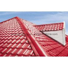 Excellente tuile de toit de villa de résine de résistance aux intempéries