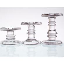 Sujetador de cristal de vidrio corto para el cono del pilar