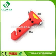 Plastic material high quality car & bus emergency hammer seat belt cutter