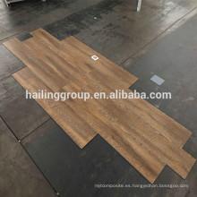 Diseño de madera sin formaldehído vinilo / suelo de vinilo clic