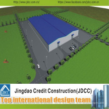 Design Fertigung und Konstruktion für Big Steel Structure Workshop