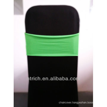 wedding chair sashes,Gorgeous Spandex Band,Lycra Band,green