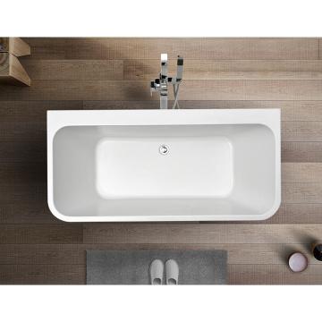 Einfache UPC Square Badewanne aus Acryl-Naturstein