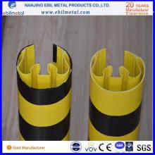 Protector de columna de plástico para el sistema de rack de almacenamiento