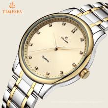 Wasserdichte Armbanduhr Armbanduhr für Edelstahl 72414