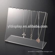 Affichage acrylique de collier de Matt