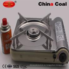 2017 estufa de gas butano portátil del acero inoxidable de la venta caliente 2017