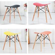shengfang comedor de plástico taburete barra silla