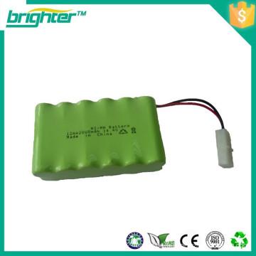 Batterie rechargeable nimh 14.4v aa 2400mah à faible auto-décharge