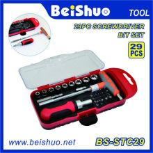 29PCS Schraubendreher Bit Set mit Handwerkzeug Set