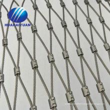 oiseau maison volière flexible en acier inoxydable corde maille animal zoo protection corde maille