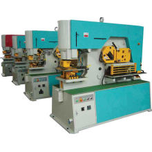 Steel Punching Hydraulic Ironworker Machine With Cold Oil Cylinder