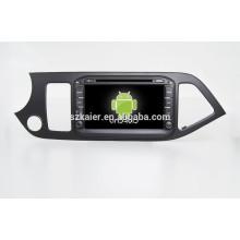 Горячая!автомобильный DVD с зеркальная связь/видеорегистратор/ТМЗ/obd2 для 8-дюймовый полный сенсорный экран система Android 4.4 утро