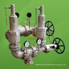 Válvula de seguridad de interruptor de enclavamiento doble (GAKH-1)