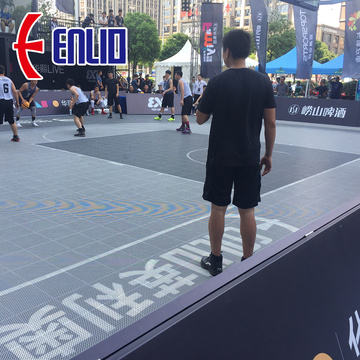 FIBA Certification Basketball 3X3 Modular Court Tiles