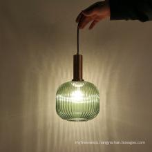 Wholesales indoor decoration glass pendant light
