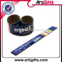 Оптовая дешевые пользовательских ткань пощечину браслеты