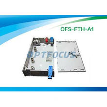 FTTH Mini Fiber Optic Terminal Box 3 SC / FC / ST Adapor 6