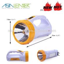 12 + 1 LED 2 en 1 Old School Design Flash Light