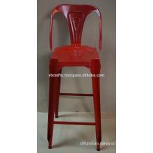 industrial metal bar chair