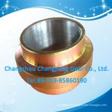 Roue de défilement en métal zincique jaune de haute qualité