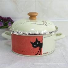 fashion logo enamel cookware & enamel soup & stock pot  fashion logo enamel cookware & enamel soup & stock pot