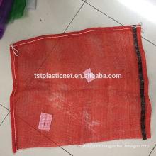 PP leno mesh net bag for fruit and vegetables