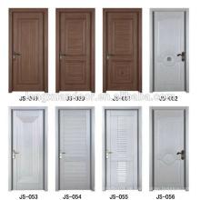 PVC-Badezimmer-Tür PVC-Außentür PVC-Küche-Kabinett-Tür