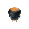 Round Cap Waterproof Electrical Push Button Switches